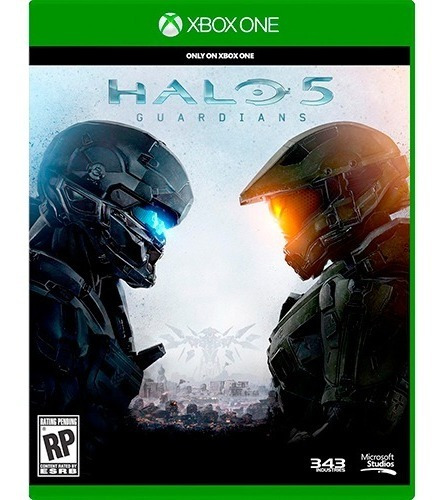Game Xbox One Halo 5 Guardians Mídia Física Novo Lacrado