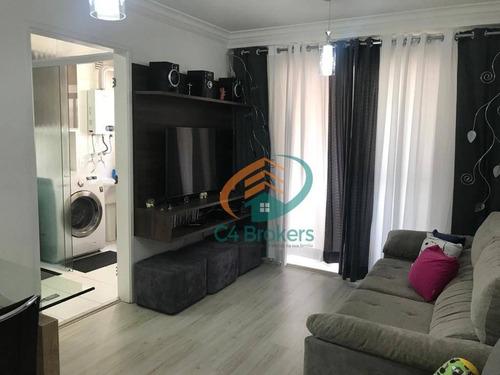 Apartamento À Venda, 62 M² Por R$ 365.000,00 - Macedo - Guarulhos/sp - Ap3376