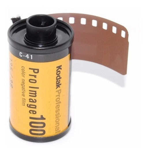 1 Filme Fotográfico 35mm Kodak 36 Poses Asa100 Pro Imagem