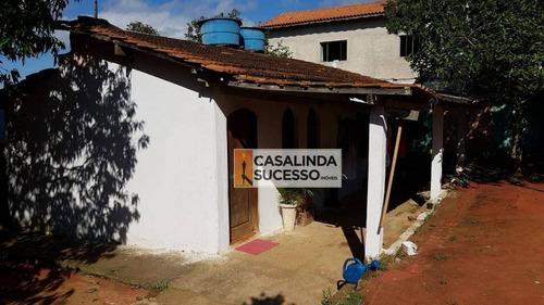 Chácara Com 2 Dormitórios À Venda Por R$ 2.000.000,00 - Chácara Santa Etelvina - São Paulo/sp - Ch0034