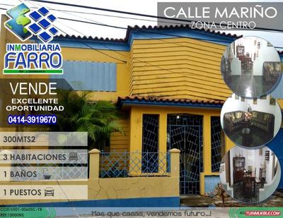 Venta De Casa Sector Centro Ve01-0060sc-yb