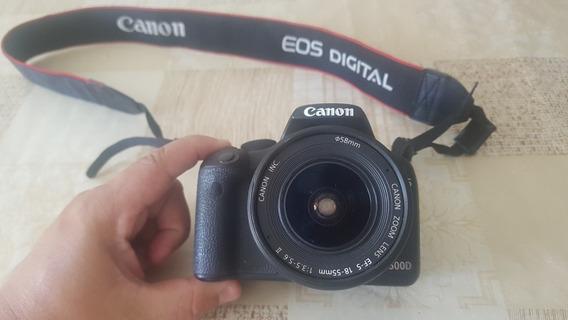 Câmera Fotográfica Digital Canon Eos 500defs 18 A 55mm Lente