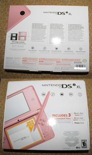 Nintendo Xl Dsi Rosa Envio Gratis Ds Caja Manuales Consola