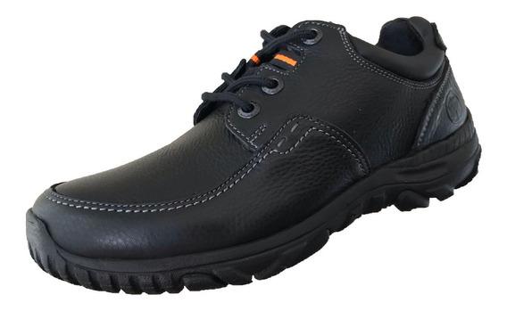 Zapato Casual Verde Tabaco Hombre Piel 2962 Tombstone Negro