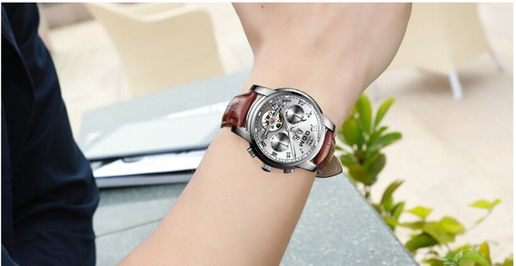 Relógio Masculino De Luxo Aço Inoxidável Black Friday Promoç