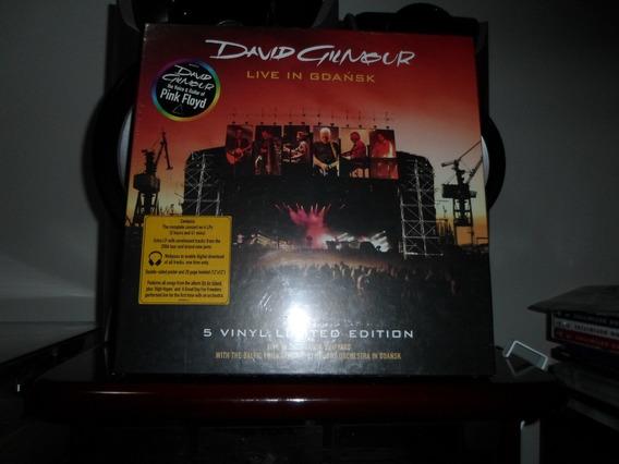 Box David Gilmour - Live In Gdansk, Vinil, 5 Lp - Pink Floyd