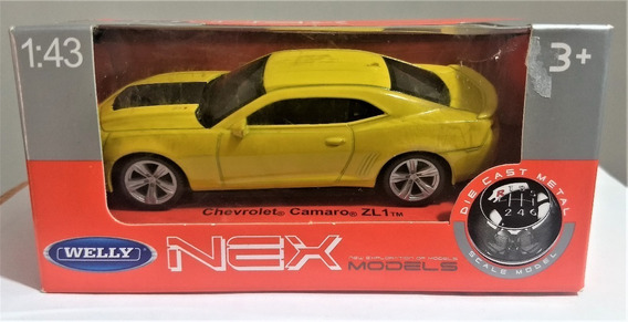 Welly Chevrolet Camaro Zl1 Escala 1:43