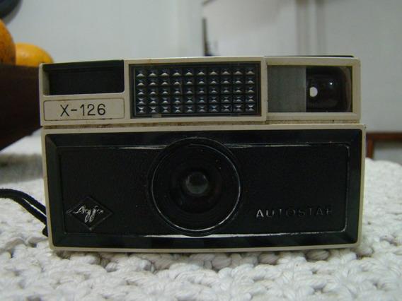 Antiga Câmera Fotográfica Agfa X126 Autoscar