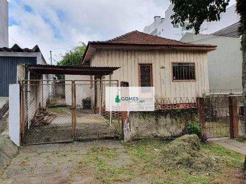 Terreno À Venda, 585 M² Por R$ 1.400.000,00 - Água Verde - Curitiba/pr - Te0045