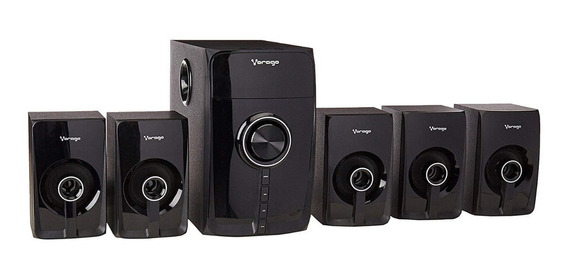 Bocinas Vorago Spb-500 Bluetooth Negras 5.1 Canales /v /vc