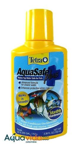 Acondicionador Para Acuarios Aquasafe Plus Tetra 100ml  (3,