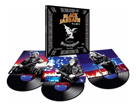 Lp Black Sabbath The End Box 3 Discos - Pront Entreg