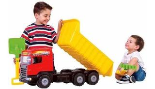 Caminhão Brinquedo Super Caçamba 5050 Magic Toys