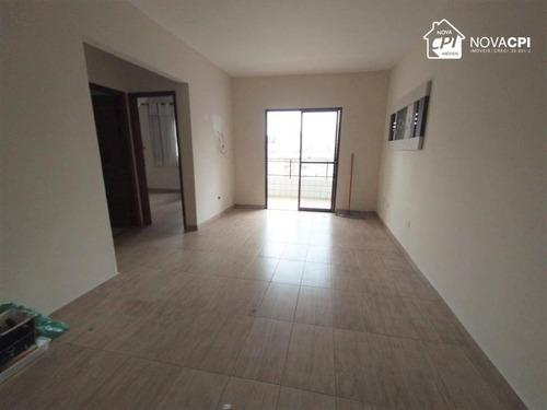 Apartamento Com 1 Dormitório À Venda, 60 M² Por R$ 190.000,00 - Tupi - Praia Grande/sp - Ap8923