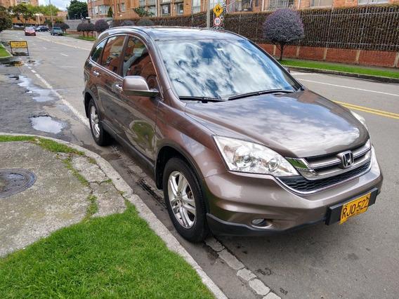 Honda Cr-v Full Cuero 6 Airbag Sunroom 2011