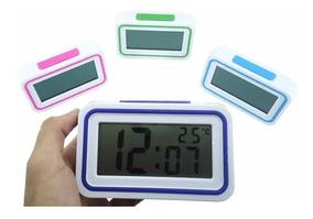 Relógio Despertador Mesa Deficiente Visual Idoso Fala Hora
