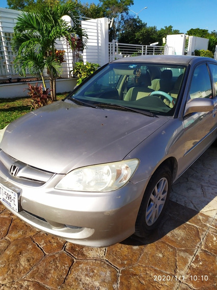 Honda Civic Lx Sedan At 2005