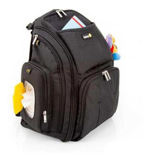 Mochila Back Pack Safety 1st De Poliéster Preta - Imp91220