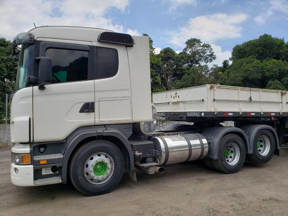 Scania G420 6x2 Ano 2010/2010 Motor Novo, Revisado