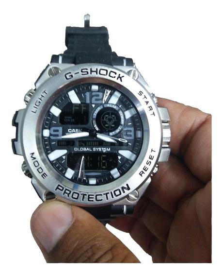 Relógio Masculino Barato G-shock Steel