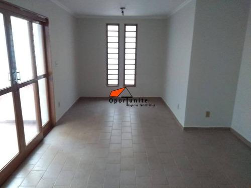 Casa Com 3 Dormitórios À Venda, 123 M² Por R$ 300.000,00 - Jardim Paulistano - Ribeirão Preto/sp - Ca1367