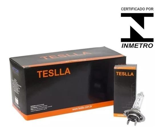 Kit 10 Lampada Teslla H7 Original Inmetro 70w 24v Caminhao