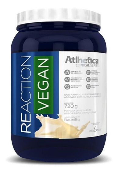 Reaction Vegan (720g) Atlhetica Nutrition