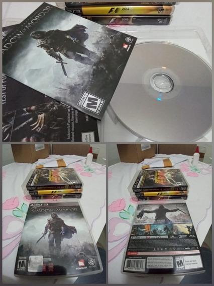 Games Jogos Sombras De Mordor/shadow Of Mordor Play3