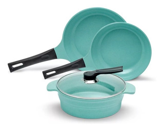 Batería Jade Cook Cocina Cv Directo Cocina Sin Grasa La Original