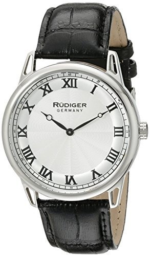 Rudiger R2800-04-001 Ulm Pantalla Analogica Reloj De Cuarzo