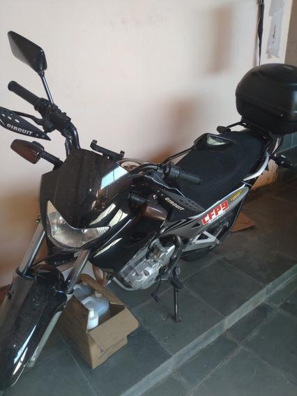 Nx 400 Falcon Preta- Manual E Chave Reserva