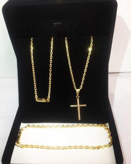 Corrente Cartier Banhado A Ouro 18k