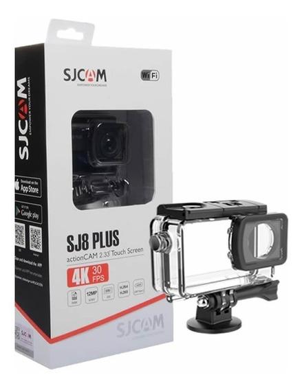 Camera Esportiva Sjcam Sj8 Plus Original - Full Set