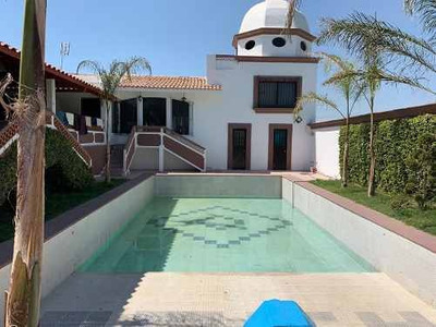 Venta De Terreno Con Casa De Campo En Querétaro
