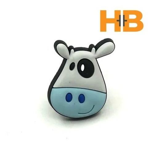 Imagen 1 de 5 de Tirador Infantil Silicona Cara Vaca.