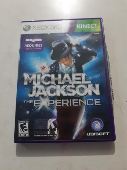 Michael Jackson The Experience Xbox 360 Original Mídia Físic