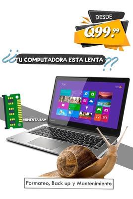 Tu Computadora Esta Lenta?