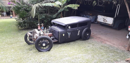 Ford Tudor 1930 Hotrod Teto Rebaixado