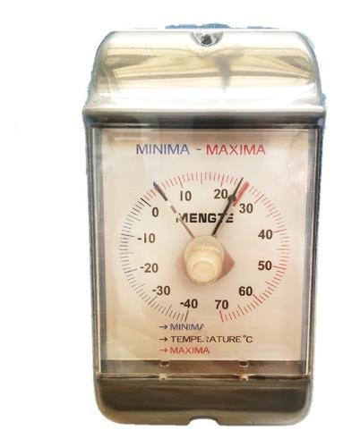 Imagen 1 de 4 de Termómetro Bimetal Max-min  -40 A 70 Grados Centígrados