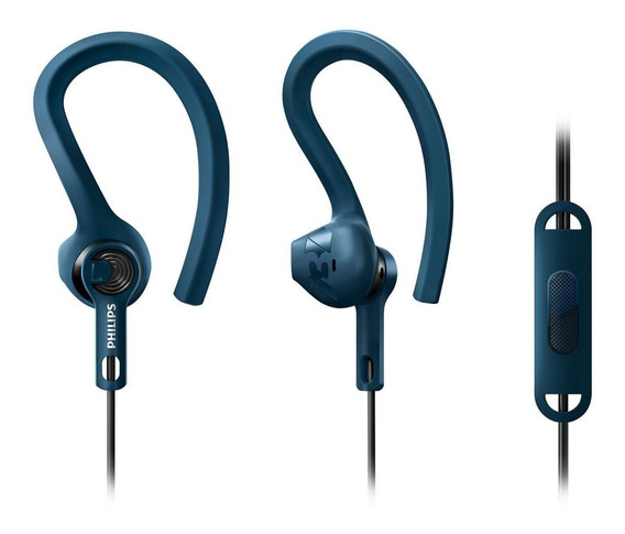 Auriculares Desportivos Philips Action Fit Shq1405bl/00
