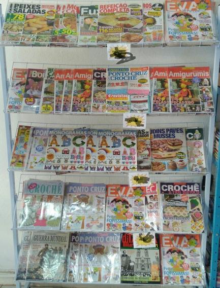 30 Revistas Para Revenda,ponto Cruz,croche,culinária,etc