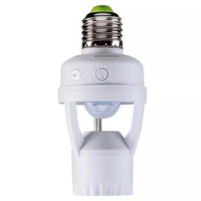 2 Sensores De Presença Soquete E27 Lâmpada Iluminação