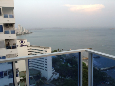 Apartamento En Cartagena Por Días Frente Al Mar 1-19c2