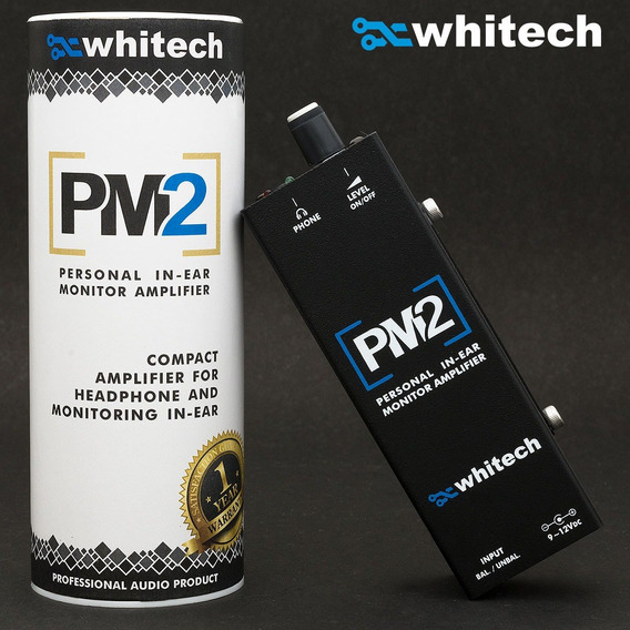Amplificador Para Fones Pm2 - Whitech Powerclick Powerplay