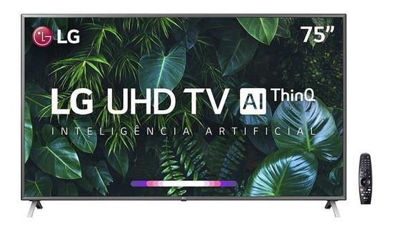 Smart Tv Led 75 Polegadas LG Un8000psb 4k Bluetooth Hdr