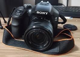 Camera Sony A3000 20.1 Megapixels Lente 18.55mm