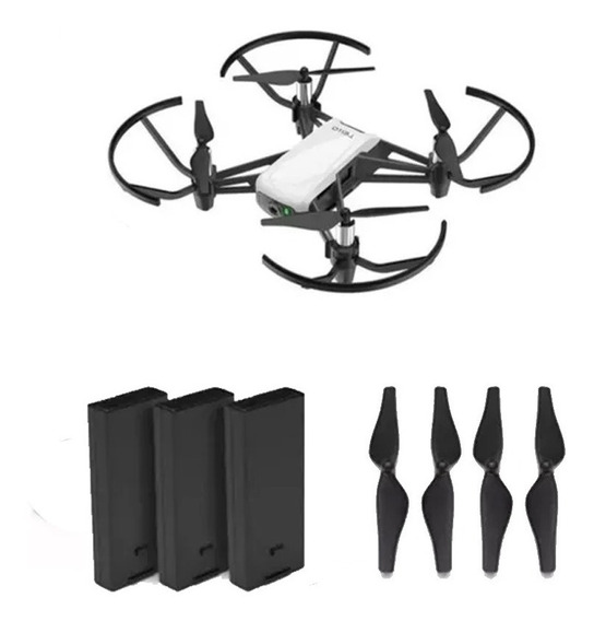 Drone Dji Tello Boost Combo Com Câmera Hd White + Controle