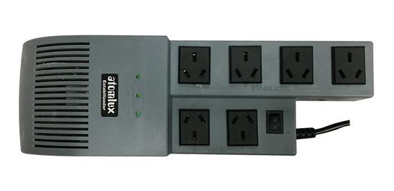 Estabilizador De Tension Atomlux R1000 Outlet Pce
