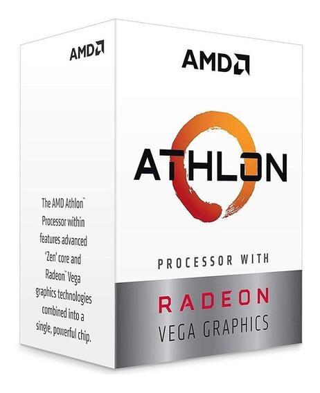 Processador Amd Athlon 240ge Dual Core 5mb 3.5ghz Am4