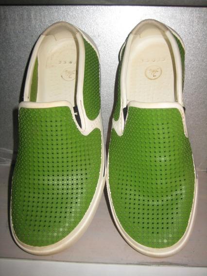 Tênis Crocs Citilane Roka Verde 39